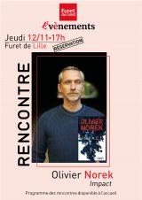 Furet du Nord Lille - Rencontre et dédicace - 12/11/2020