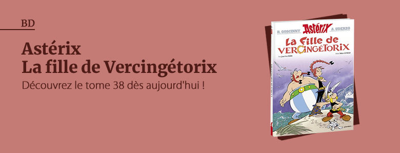 Astérix Tome 38 - La fille de Vercingétorix