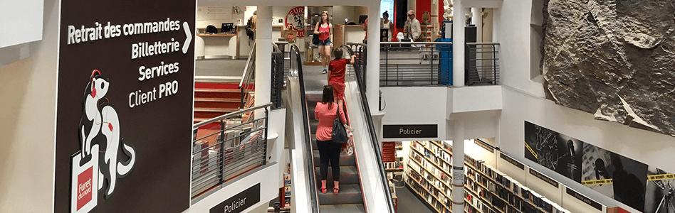 Librairie Furet du Nord Lille