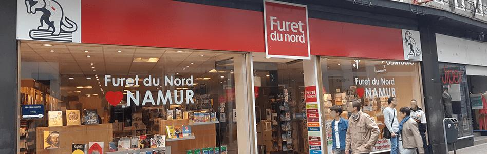 Librairie Furet du Nord Namur
