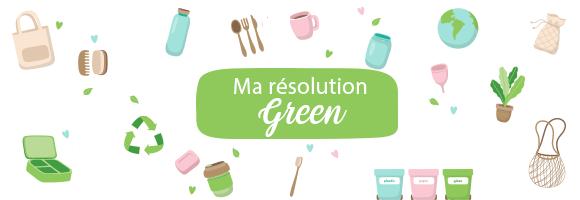 Ma résolution Green