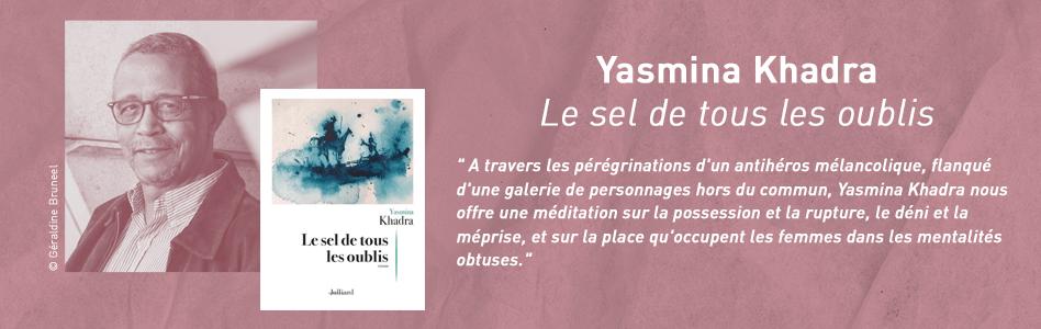 Rentrée littéraire -  Yasmina Khadra