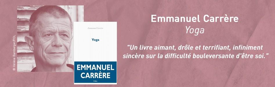 Rentrée littéraire -  Emmanuel Carrère