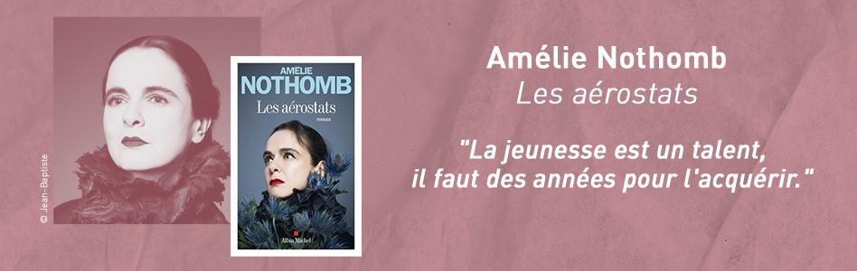Rentrée littéraire -  Amélie Nothomb