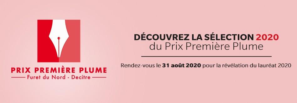 Prix première plume - la sélection 2020