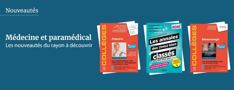 Nouveautés - Médecine et paramédical