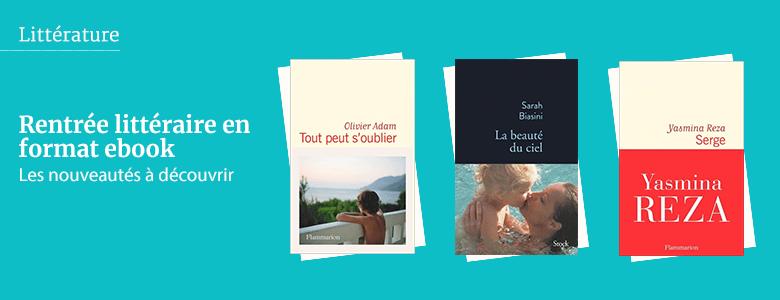 Rentrée littéraire en format ebook